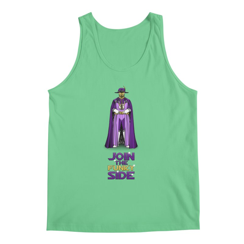 Join The Funky Side Men's Tank by Tomas Teslik's Artist Shop