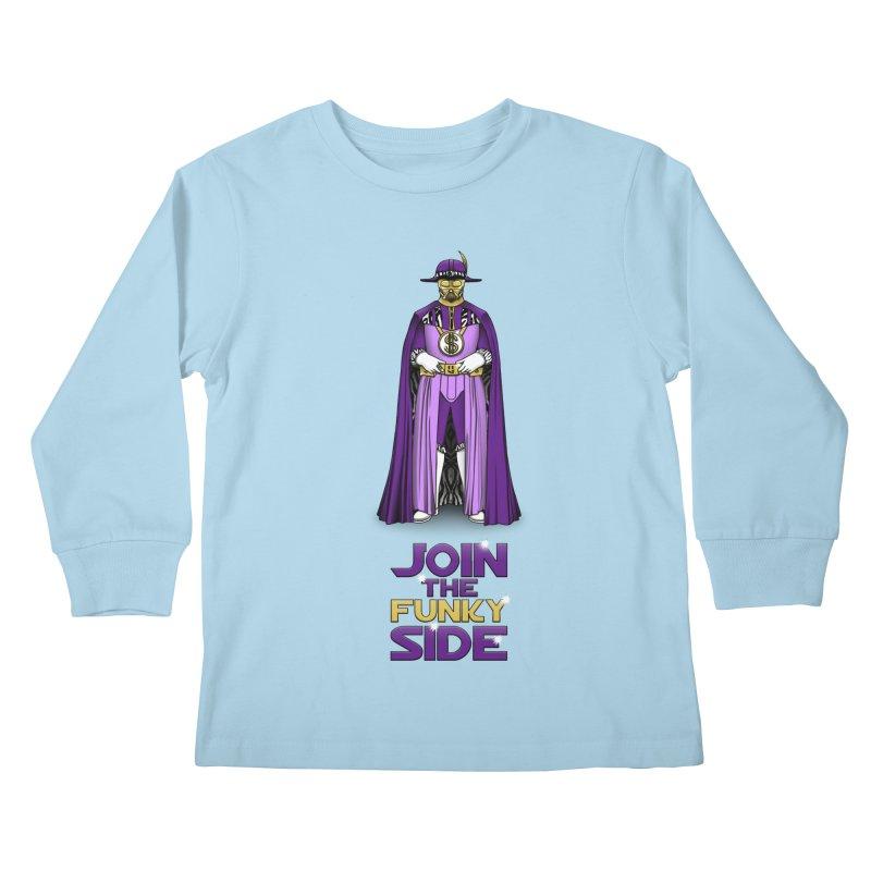 Join The Funky Side Kids Longsleeve T-Shirt by Tomas Teslik's Artist Shop
