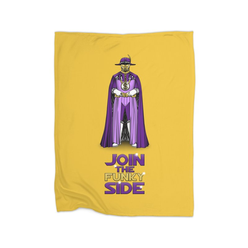 Join The Funky Side Home Blanket by Tomas Teslik's Artist Shop
