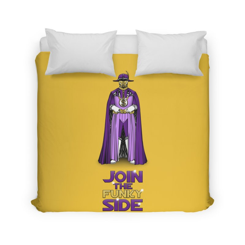 Join The Funky Side Home Duvet by Tomas Teslik's Artist Shop