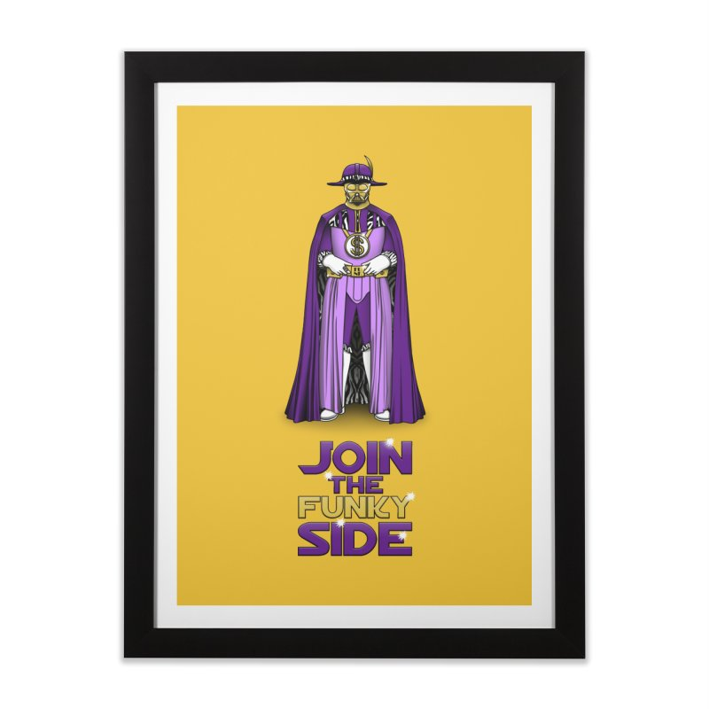 Join The Funky Side Home Framed Fine Art Print by Tomas Teslik's Artist Shop