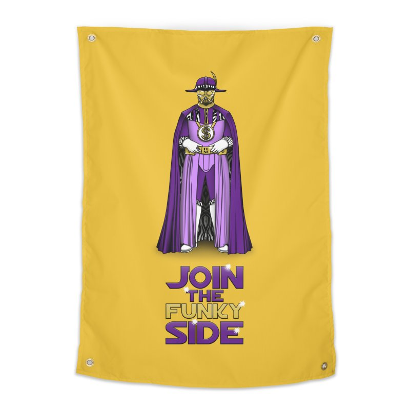 Join The Funky Side Home Tapestry by Tomas Teslik's Artist Shop
