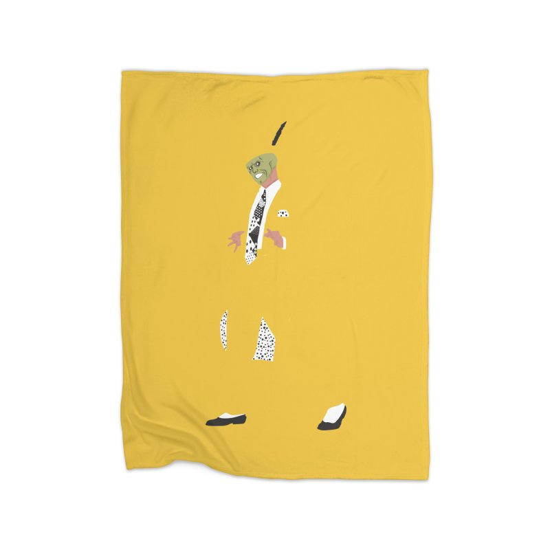 The Mask Home Blanket by Tomas Teslik's Artist Shop