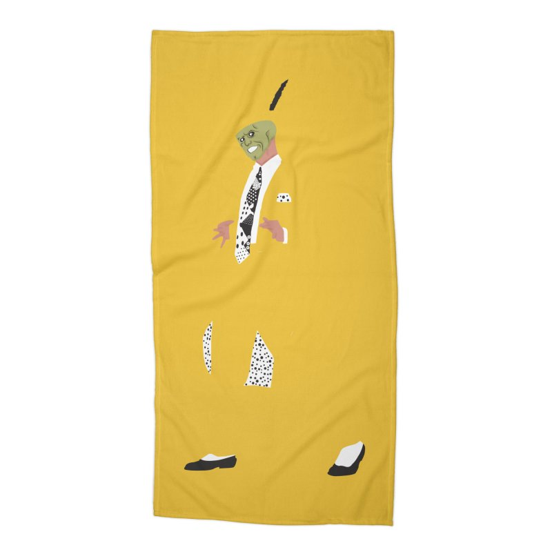 The Mask Accessories Beach Towel by Tomas Teslik's Artist Shop