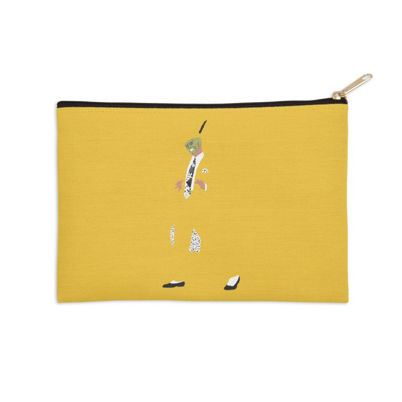 The Mask Accessories Zip Pouch by Tomas Teslik's Artist Shop