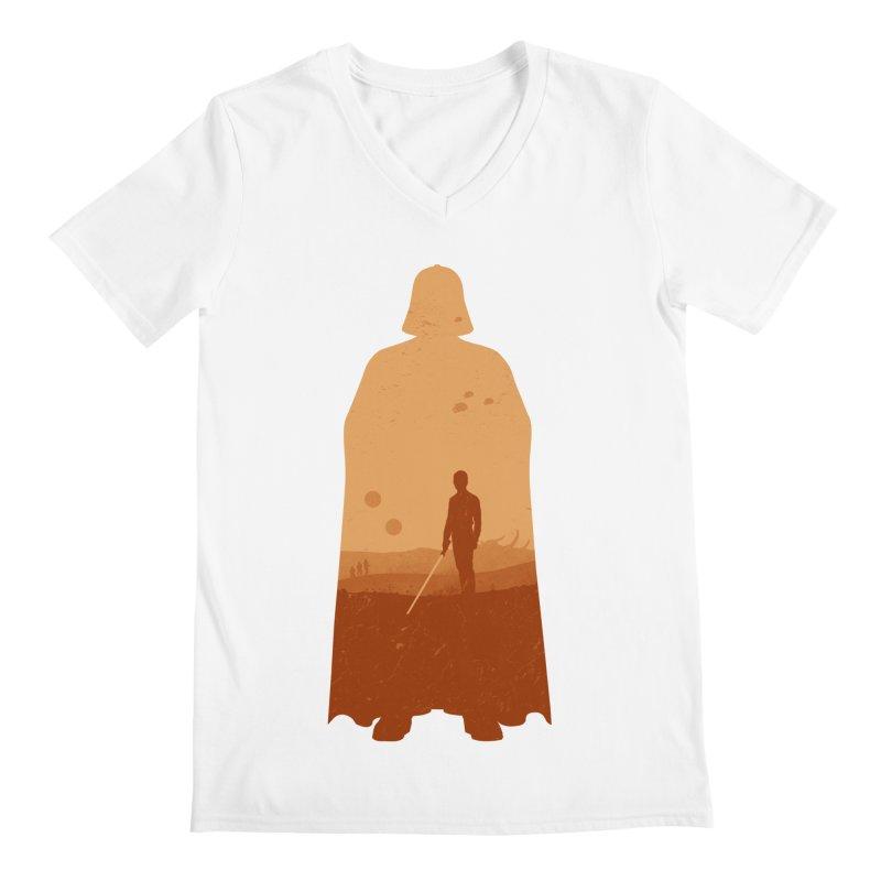 Vader Men's V-Neck by Tomas Teslik's Artist Shop