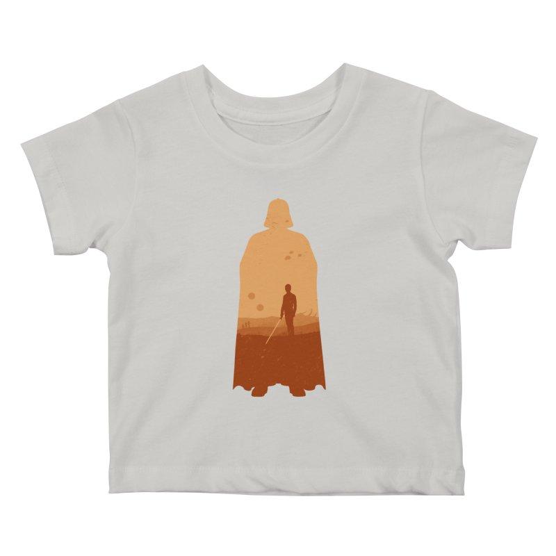Vader Kids Baby T-Shirt by Tomas Teslik's Artist Shop