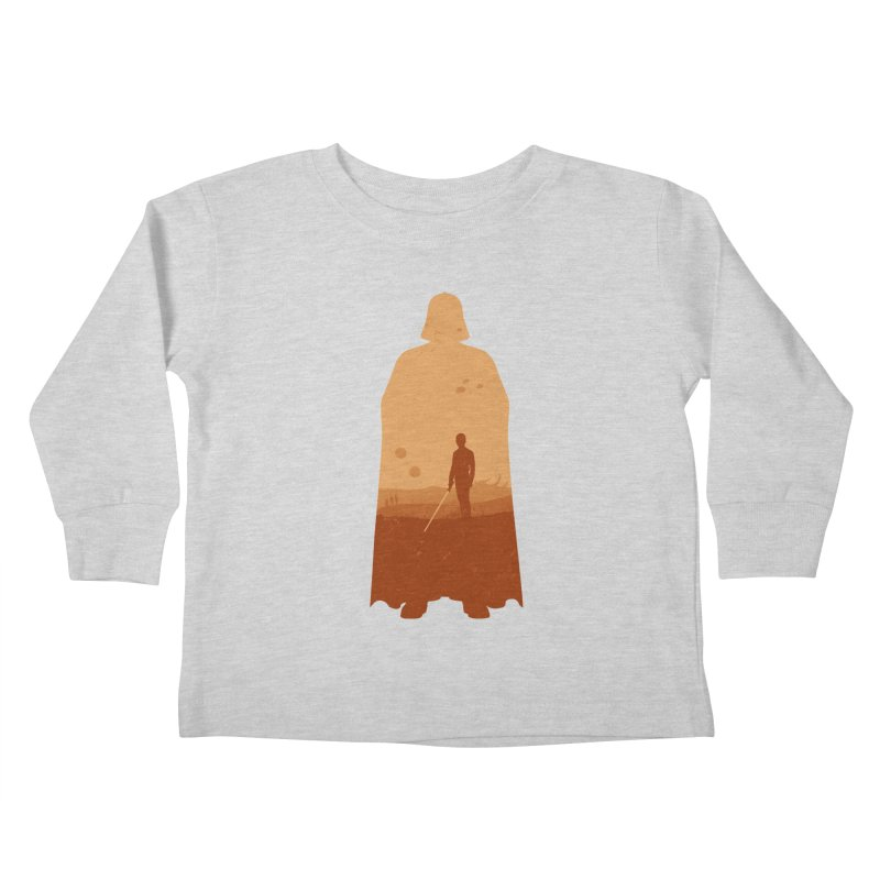 Vader Kids Toddler Longsleeve T-Shirt by Tomas Teslik's Artist Shop
