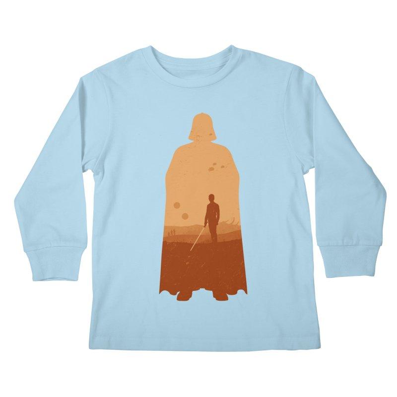 Vader Kids Longsleeve T-Shirt by Tomas Teslik's Artist Shop