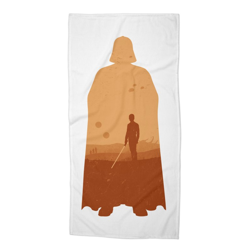 Vader Accessories Beach Towel by Tomas Teslik's Artist Shop