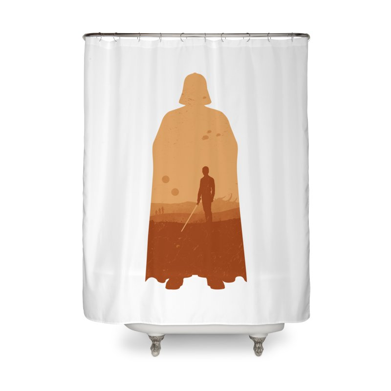 Vader Home Shower Curtain by Tomas Teslik's Artist Shop