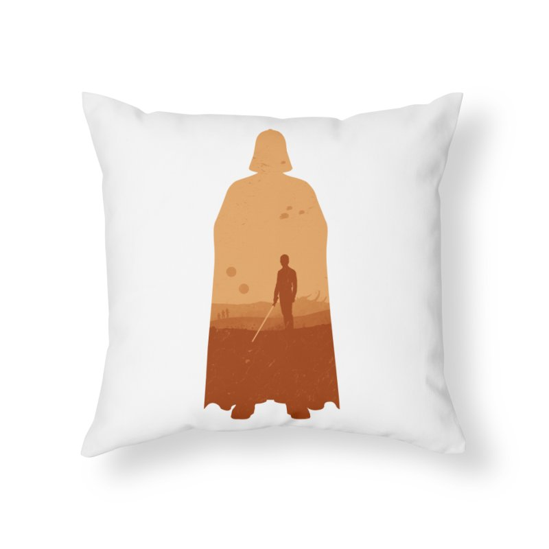 Vader Home Throw Pillow by Tomas Teslik's Artist Shop
