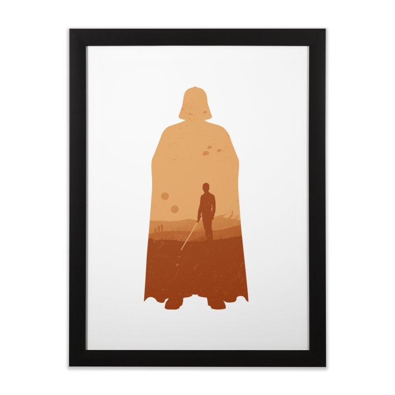Vader Home Framed Fine Art Print by Tomas Teslik's Artist Shop
