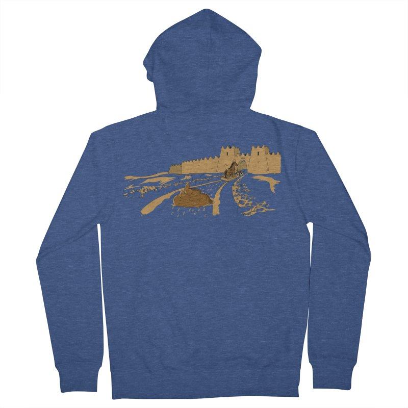 Troyan Horse Men's Zip-Up Hoody by Tomas Teslik's Artist Shop