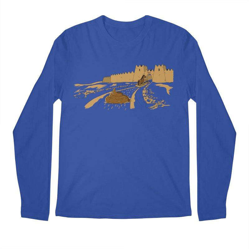 Troyan Horse Men's Longsleeve T-Shirt by Tomas Teslik's Artist Shop