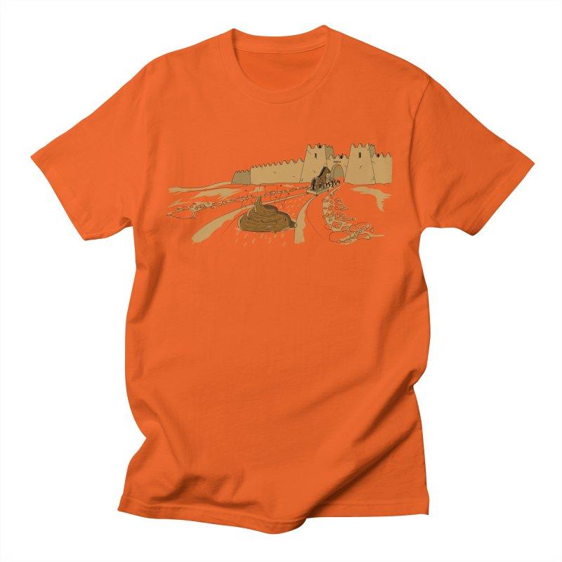 Troyan Horse Men's T-shirt by Tomas Teslik's Artist Shop