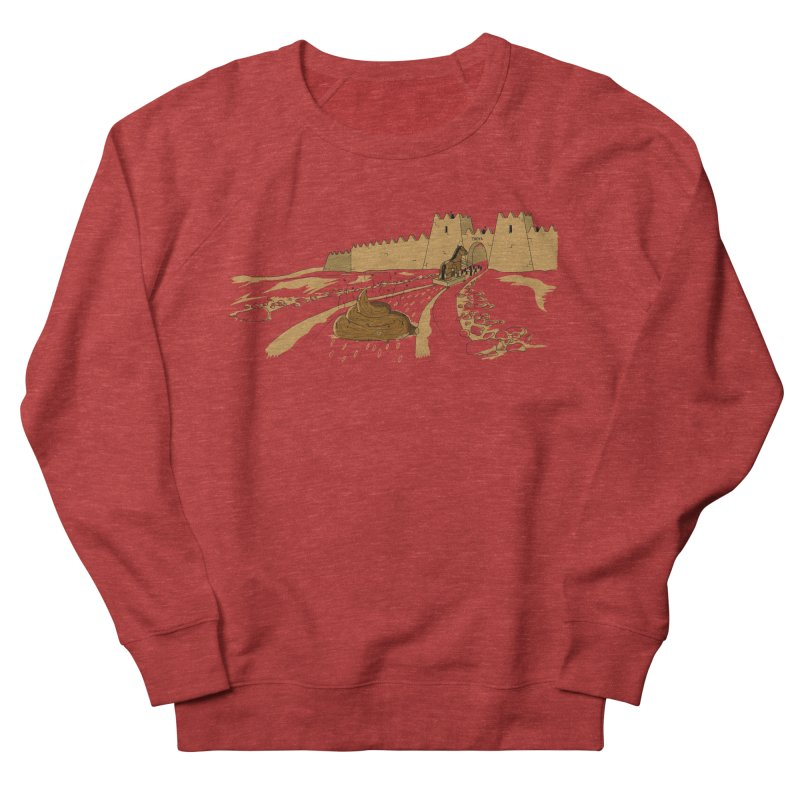 Troyan Horse Men's Sweatshirt by Tomas Teslik's Artist Shop
