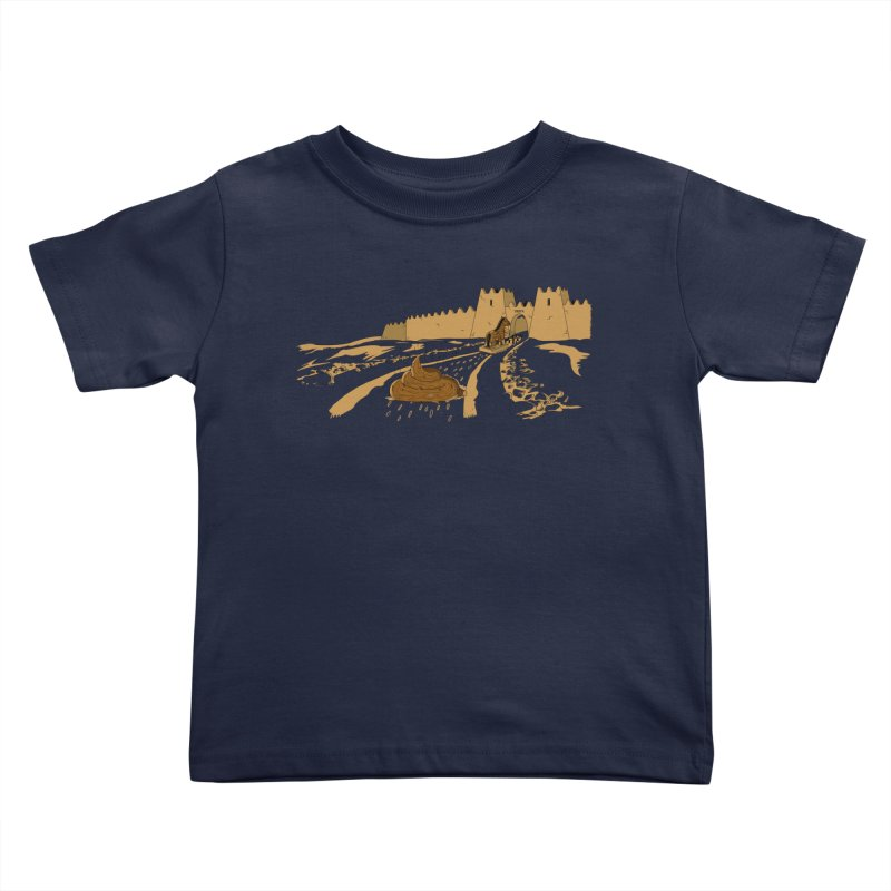 Troyan Horse Kids Toddler T-Shirt by Tomas Teslik's Artist Shop