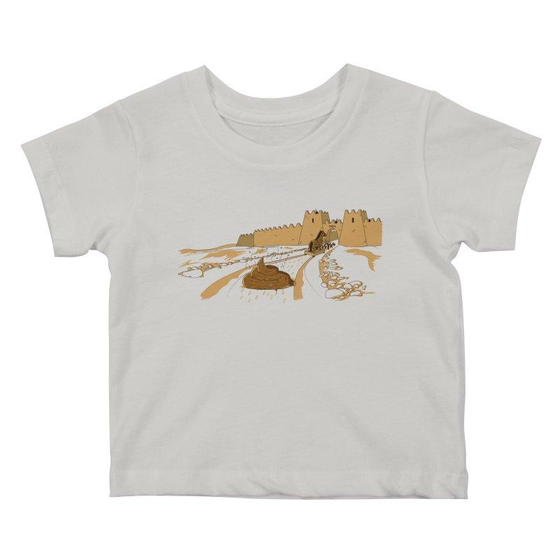 Troyan Horse Kids Baby T-Shirt by Tomas Teslik's Artist Shop