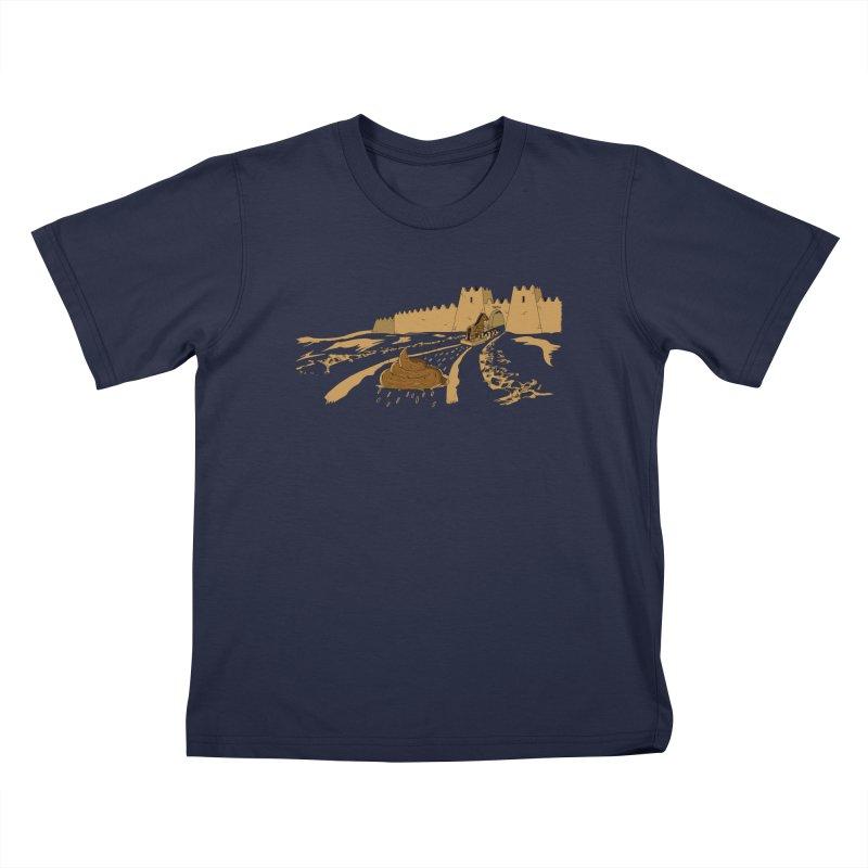 Troyan Horse Kids Toddler T-Shirt by Tomas Teslik's Artist Shop