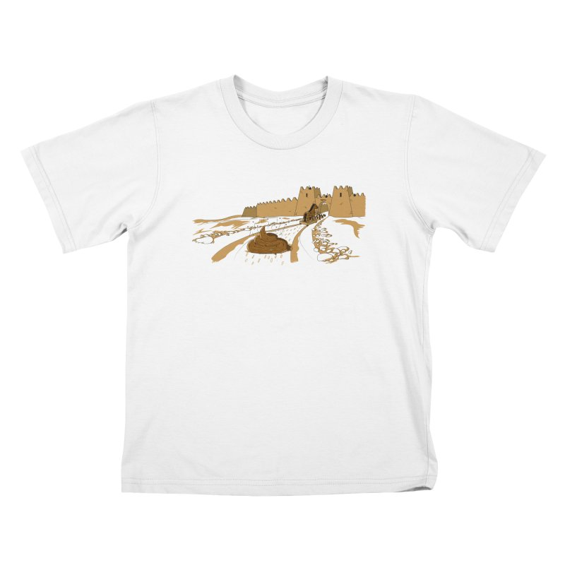Troyan Horse Kids T-Shirt by Tomas Teslik's Artist Shop