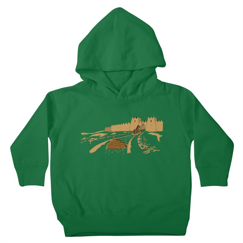 Troyan Horse Kids Toddler Pullover Hoody by Tomas Teslik's Artist Shop