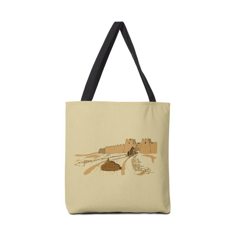Troyan Horse Accessories Bag by Tomas Teslik's Artist Shop