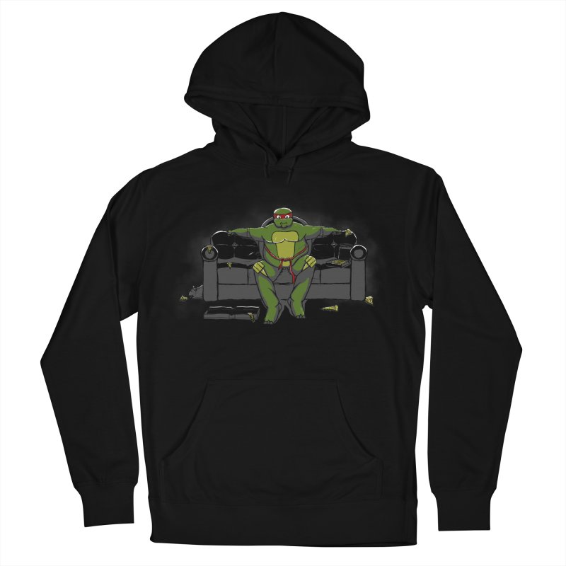 Ninja Fat Turtle Women's Pullover Hoody by Tomas Teslik's Artist Shop