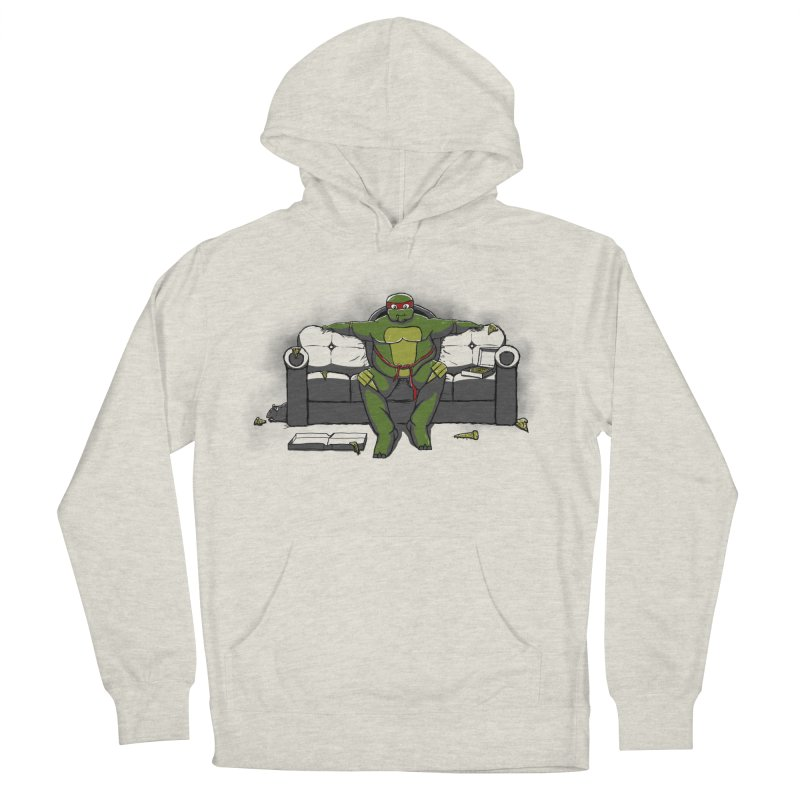 Ninja Fat Turtle Men's Pullover Hoody by Tomas Teslik's Artist Shop