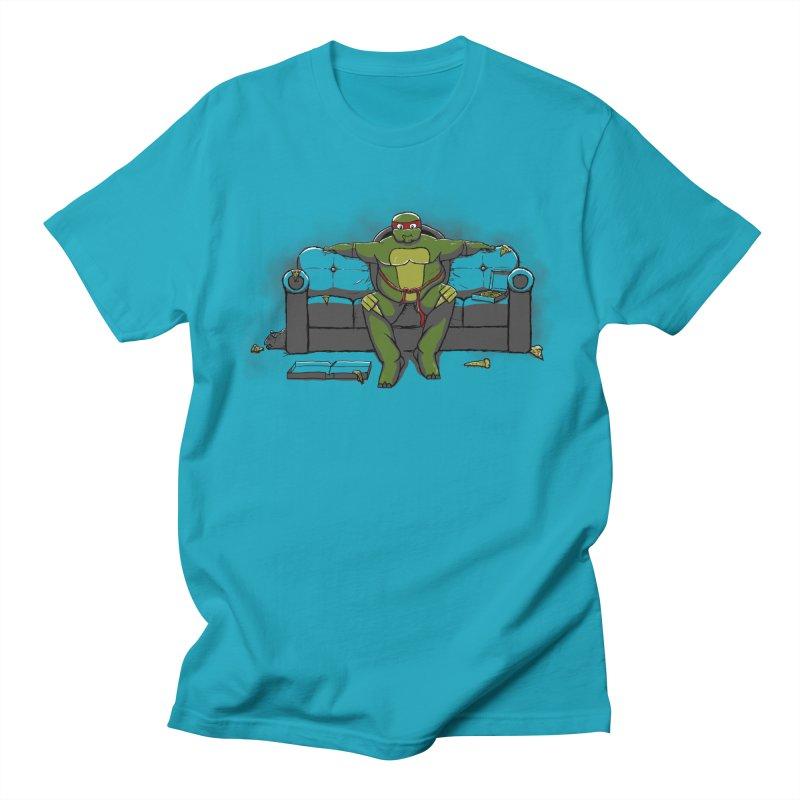 Ninja Fat Turtle Women's Unisex T-Shirt by Tomas Teslik's Artist Shop