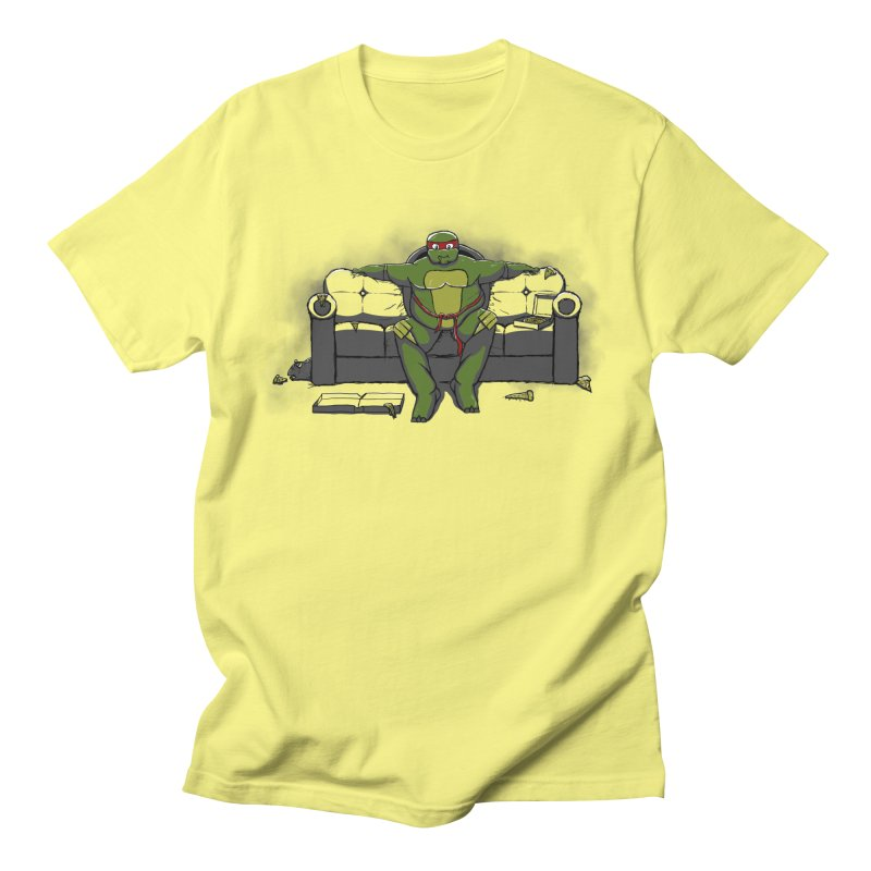 Ninja Fat Turtle Women's Unisex T-Shirt by Tomas Teslik's Artist Shop