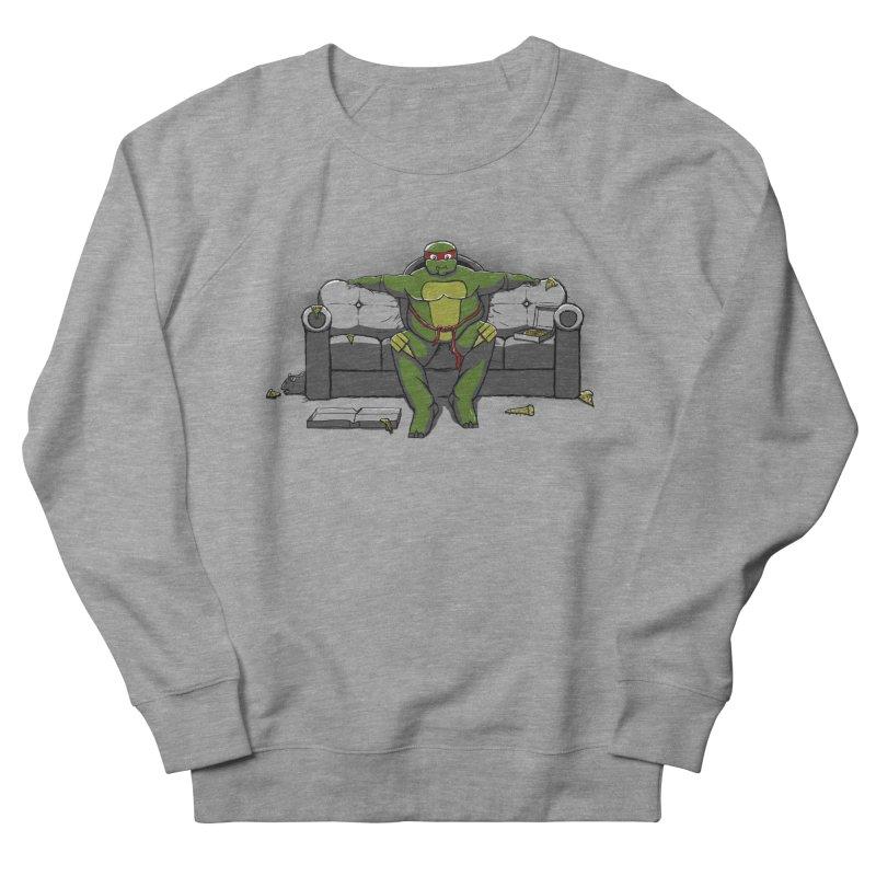 Ninja Fat Turtle Women's Sweatshirt by Tomas Teslik's Artist Shop