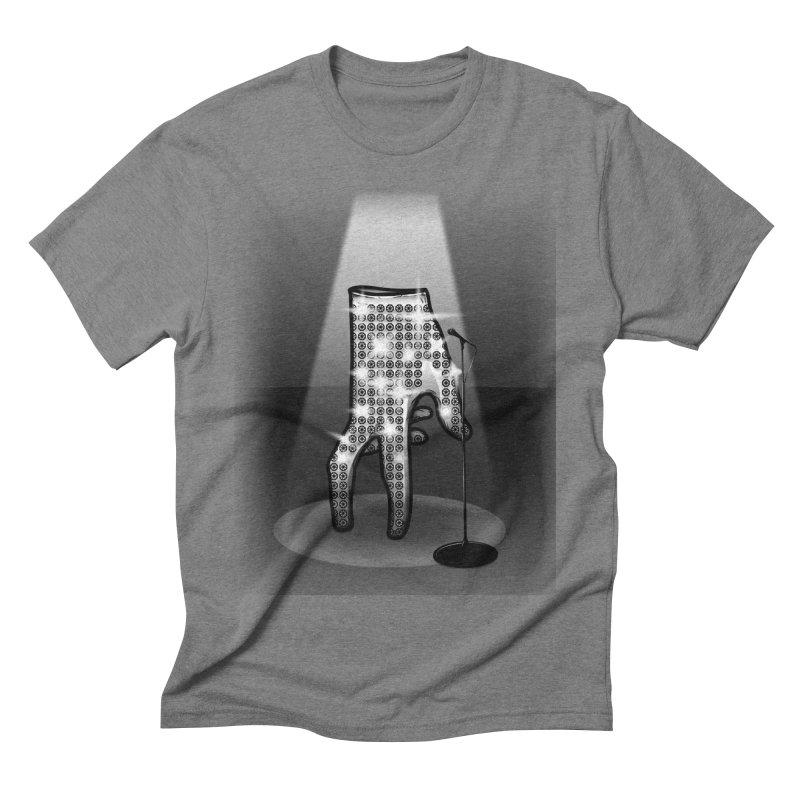Jackson Glove Men's Triblend T-shirt by Tomas Teslik's Artist Shop