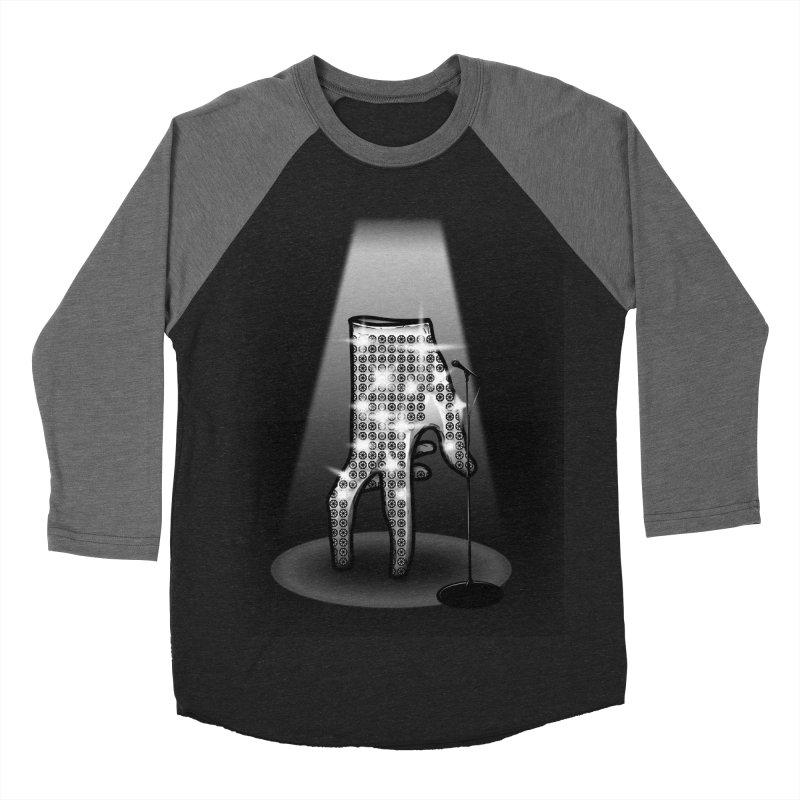 Jackson Glove Men's Baseball Triblend T-Shirt by Tomas Teslik's Artist Shop