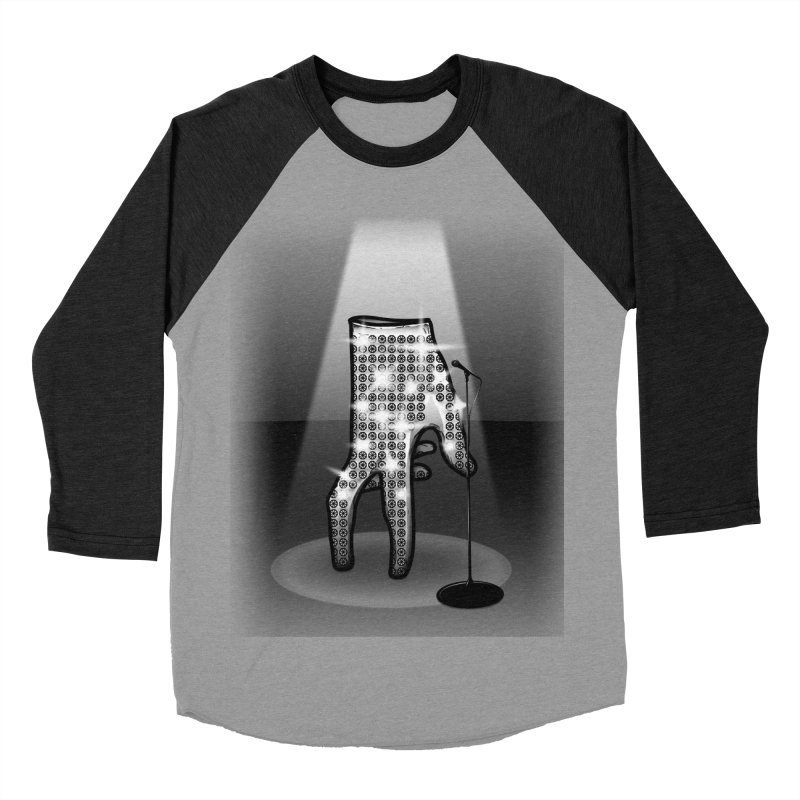 Jackson Glove Men's Baseball Triblend T-Shirt by Tomas Teslik's Artist Shop
