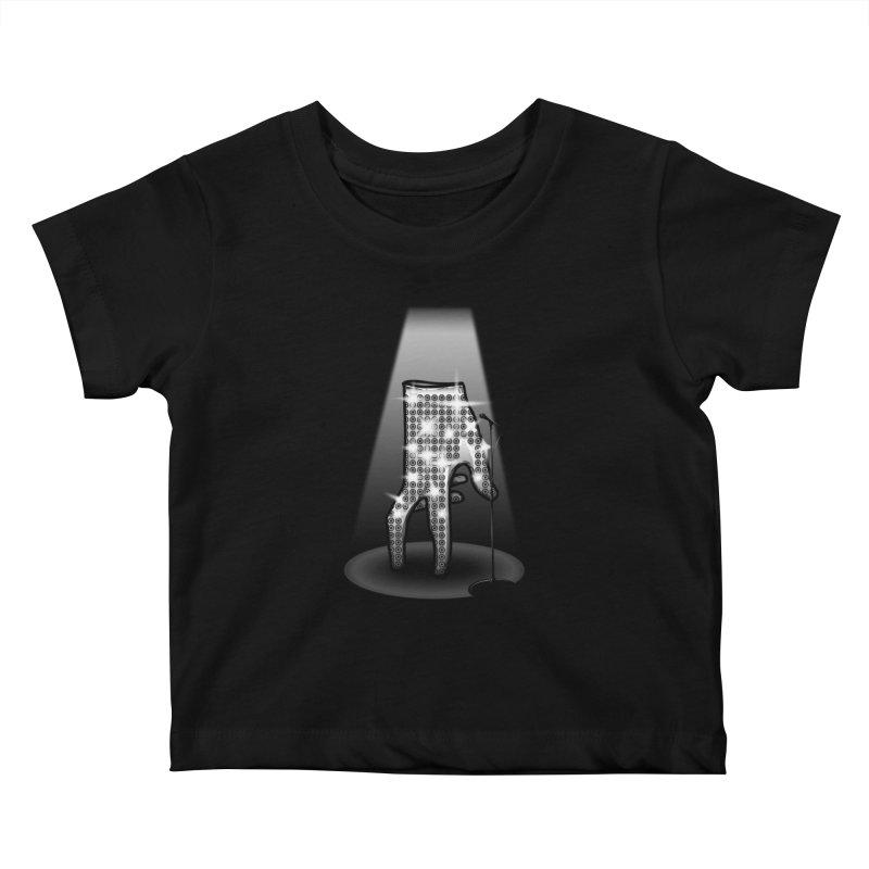 Jackson Glove Kids Baby T-Shirt by Tomas Teslik's Artist Shop