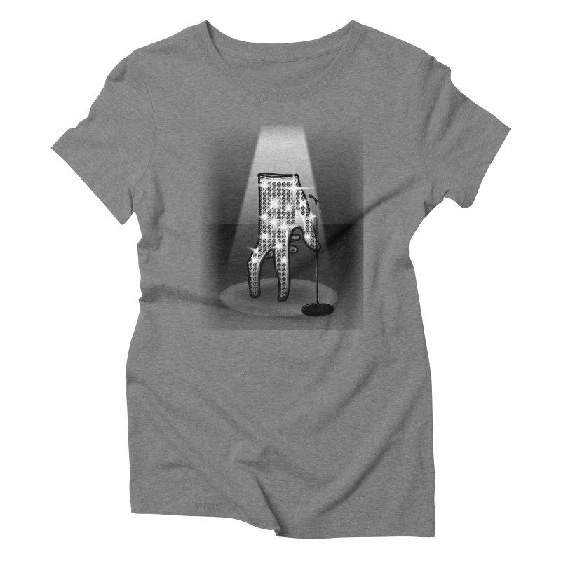 Jackson Glove Women's Triblend T-Shirt by Tomas Teslik's Artist Shop