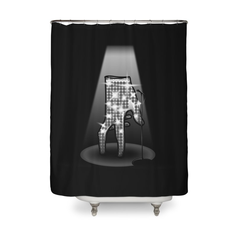 Jackson Glove Home Shower Curtain by Tomas Teslik's Artist Shop