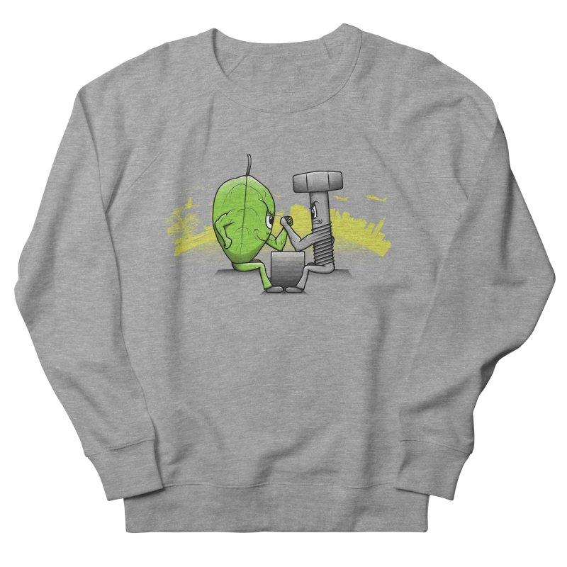 Nature vs Technique Men's Sweatshirt by Tomas Teslik's Artist Shop