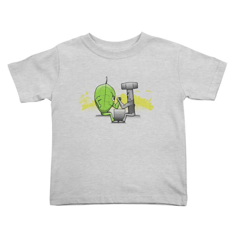 Nature vs Technique Kids Toddler T-Shirt by Tomas Teslik's Artist Shop