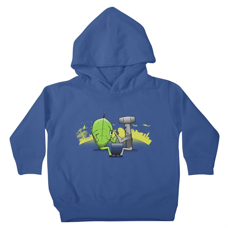 Nature vs Technique Kids Toddler Pullover Hoody by Tomas Teslik's Artist Shop