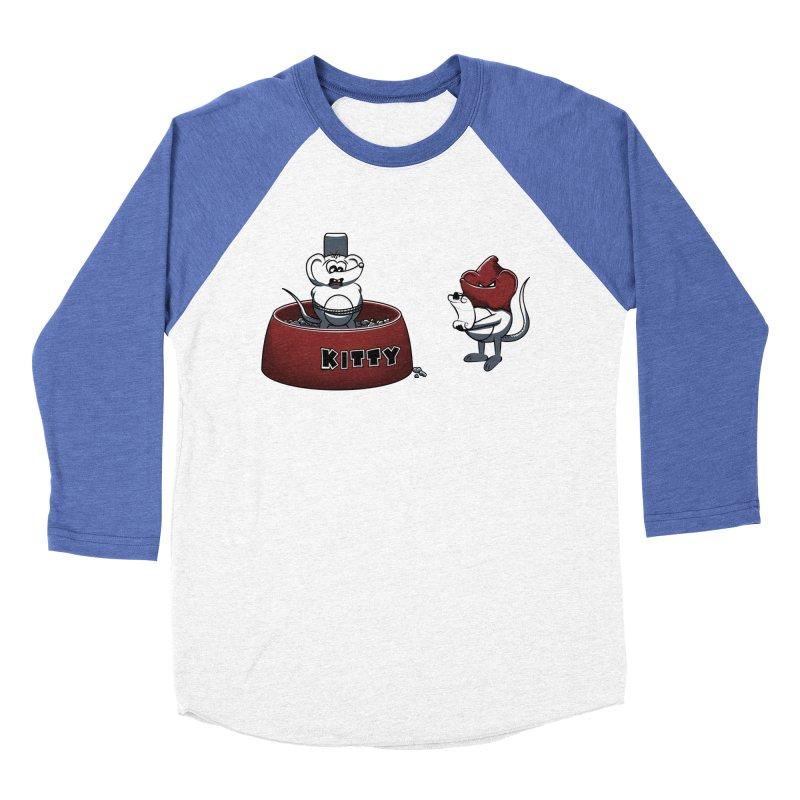 Last Judgment Men's Baseball Triblend T-Shirt by Tomas Teslik's Artist Shop