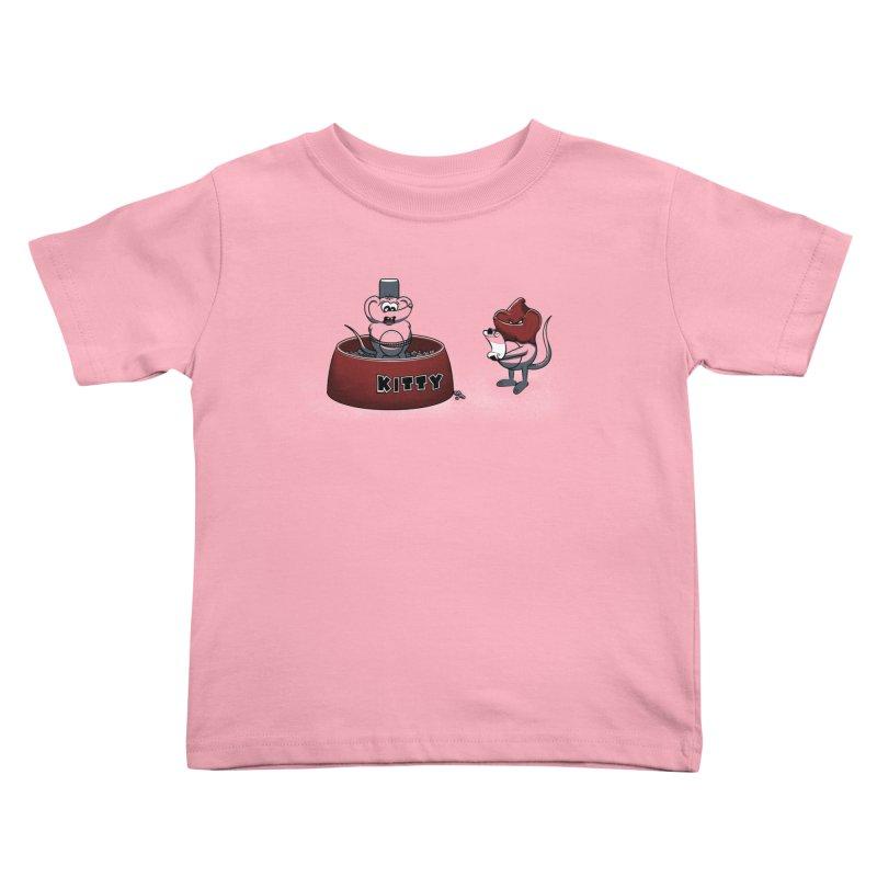 Last Judgment Kids Toddler T-Shirt by Tomas Teslik's Artist Shop