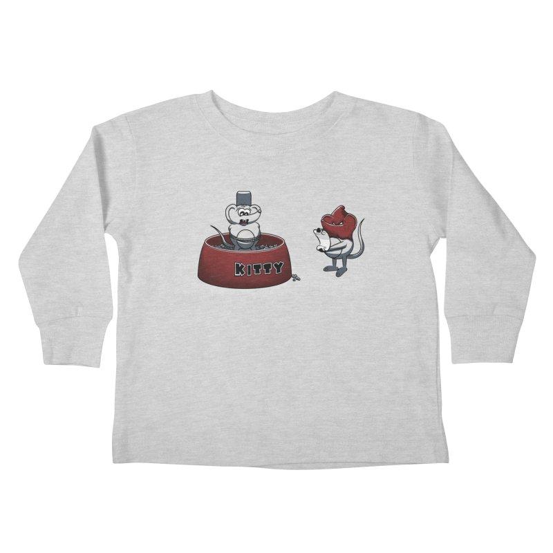 Last Judgment Kids Toddler Longsleeve T-Shirt by Tomas Teslik's Artist Shop