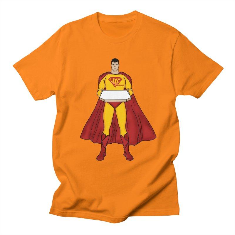 Pizza Express Men's T-shirt by Tomas Teslik's Artist Shop