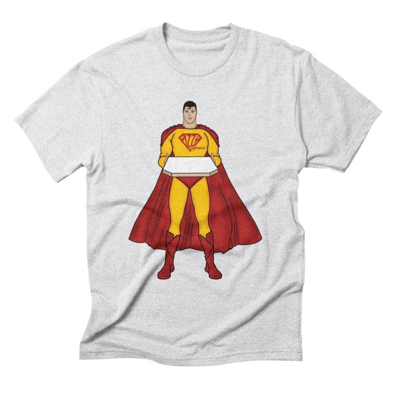 Pizza Express Men's Triblend T-shirt by Tomas Teslik's Artist Shop