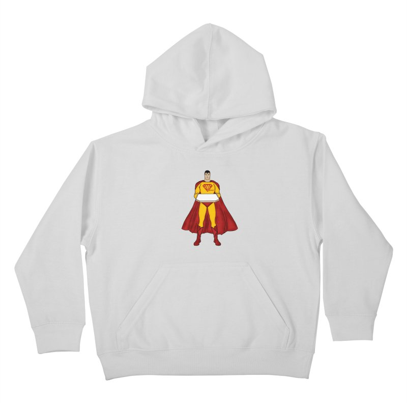 Pizza Express Kids Pullover Hoody by Tomas Teslik's Artist Shop