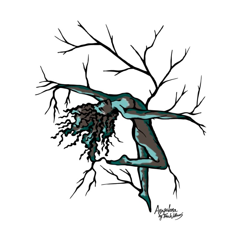 Tree Dancer 2 - Moss Tones Men's Tank by Anapalana by Tona Williams Artist Shop