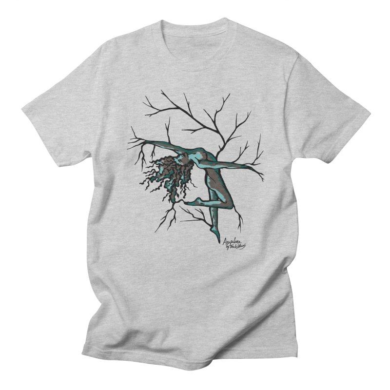 Tree Dancer 2 - Moss Tones Men's T-Shirt by Anapalana by Tona Williams Artist Shop