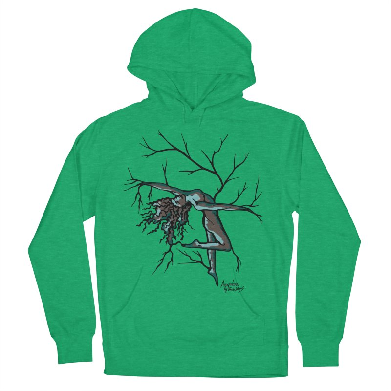 Tree Dancer 2 - Moss Tones Men's Pullover Hoody by Anapalana by Tona Williams Artist Shop